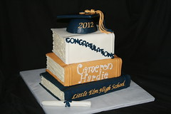 "graduation books cake • <a style=""font-size:0.8em;"" href=""http://www.flickr.com/photos/60584691@N02/7977156683/"" target=""_blank"">View on Flickr</a>"