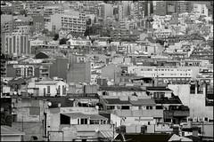 ...i la creu (Jose Maria Sancho Aguilar) Tags: barcelona city urban bw espaa white black building blancoynegro blanco lumix casa blackwhite spain arquitectura europa europe bcn edificio ciudad catalonia bn panasonic caos urbano catalunya catalua espanya densidad aglomeracin fz38 josmarasancho