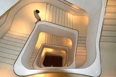 Escalera interior de Caixa Forum, Madrid. (M Roa) Tags: frameit flickraward platinumpeaceaward flickrawardgallery flickrbronzetrophygroup galleryoffantasticshots frameitlevel3 frameitlevel2