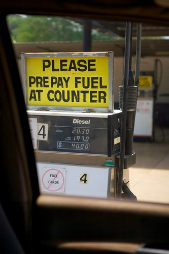 Please Prepay Fuel At Counter