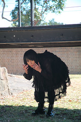 Gothic lolita out door 007 (Mr.NM.Zero) Tags: boy black cute doll dress vampire cd gothic lolita egl mana crossdress  ero crossplay dolllike australiantechnologypark    brolita mrnightmare         animinia