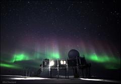 Is This The Edge of Nowhere... or Everywhere Else (Ed.Stockard) Tags: sky motion ice night stars movement glacier aurora greenland summit northernlights auroraborealis summitstation icesheet