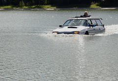 Waterproof... (CitroenAZU) Tags: water car break citroen cx vehicle amphicar amphibious varen amfibie