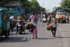 IMG_9205 (Rahul Gaywala) Tags: blue boy red india color green girl car festival fun dance team god flag poor daughter ganesh tricolor anita abhishek priyanka visarjan ganpati surat tiranga adajan gaywala