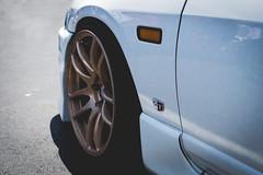 White R33 Wheel (Saood Altaf) Tags: carshow cars skyline nissan mazda rx7 mustang beetle rs5 audi ford lamborghini gallardo rosso r33 s550 miata track functional aircooled porsche 911 toyota celica classics modela