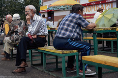 Waiting    (constantiner) Tags: street city summer people urban men 35mm daylight asia pentax market russia outdoor candid strangers streetphotography sigma overcast siberia urbanexploration streetphoto daytime russians publicplaces tomsk   russianfederation    peoplephotography     tomskayaoblast  summer2016   sigmaart pentaxk3 sigmaart35mm