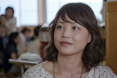 nutritionist (kasa51) Tags: people portrait woman nutritionist yokohama japan
