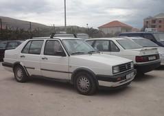 VW Jetta 2 4d Flair 1990/92 (Fuego 81) Tags: volkswagen jetta mk2 passat b3 st997ha st115to seget donji croatia hrvatska vw