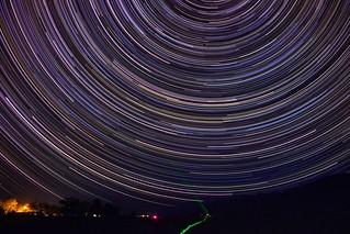 Black Mountain Star Trails/Streaks