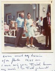 1973 Pa  en Ma (Steenvoorde Leen - 1.9 ml views) Tags: 1973 vakantie holiday urlaub ferien ouders parents eltern father mother pre et mre vater und mutter vacances pa en ma