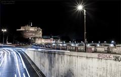 Luci nella notte (Giuseppe Tripodi) Tags: luci notte roma light night castelsantangelo