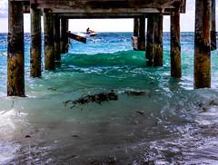 jet skier (-gregg-) Tags: jet skier bahamas vacation pier water blue