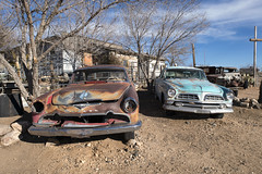 DeSoto and Chrysler (Curtis Gregory Perry) Tags: hackberry arizona desoto chrysler car old vintage rusty rust route 66 nikon d800e