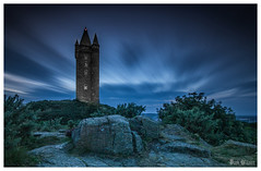 Scrabo Tower (D.k.o.w) Tags: scrabotower newtownards longexposure bigstopper strangfordlough northdown nightshot landscape bluehour dusk sunset tower scrabo northernireland canon7dmkii