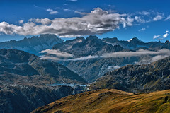 The Totensee in the Grimselpass  and the Finsteraarhorn  (4 274 alt, )., A view from The Furka pass area . No. 3086. (Izakigur) Tags: finsteraarhorn dieschweiz d700 nikond700 nikkor nikkor2470f28 alps alpen alpes berneroberland grimsel grimselsee grimselpass furka thelittleprince lasuisse laventuresuisse see lac lake water