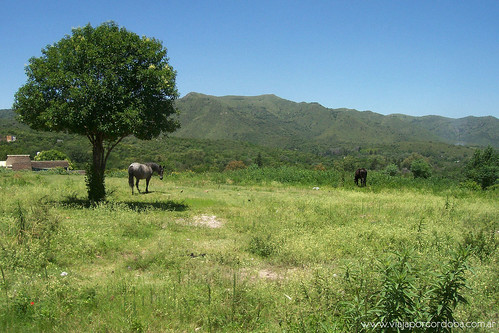 Paisaje serrano de Valle Hermoso