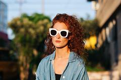 Babs , L.A , August 2016 (Karl Hab) Tags: portrait fashion rare karlhab 2016 new effected redhead california losangeles karl hab creativity flickr random creative vogue celine sunglasses