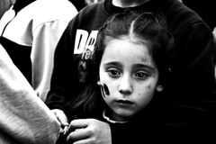 (Luciana Garca) Tags: nikon children child girl nia chica argentina club juan pablo ii camino 60 cuadras byn bw bn blanco y negro blancoynegro photography portrait perfil retrato mirada