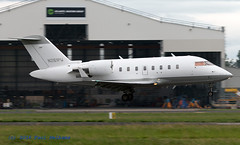 N261PW Challenger 605 (Anhedral) Tags: n261pw canadair bombadier challenger605 cl605 bizjet corporatejet landing shannonairport