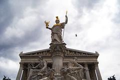 The Parliament (Pavliv Anna) Tags: wien vienna austria travel explore city europe beaty symmetry nature art architecture parliament athene atena