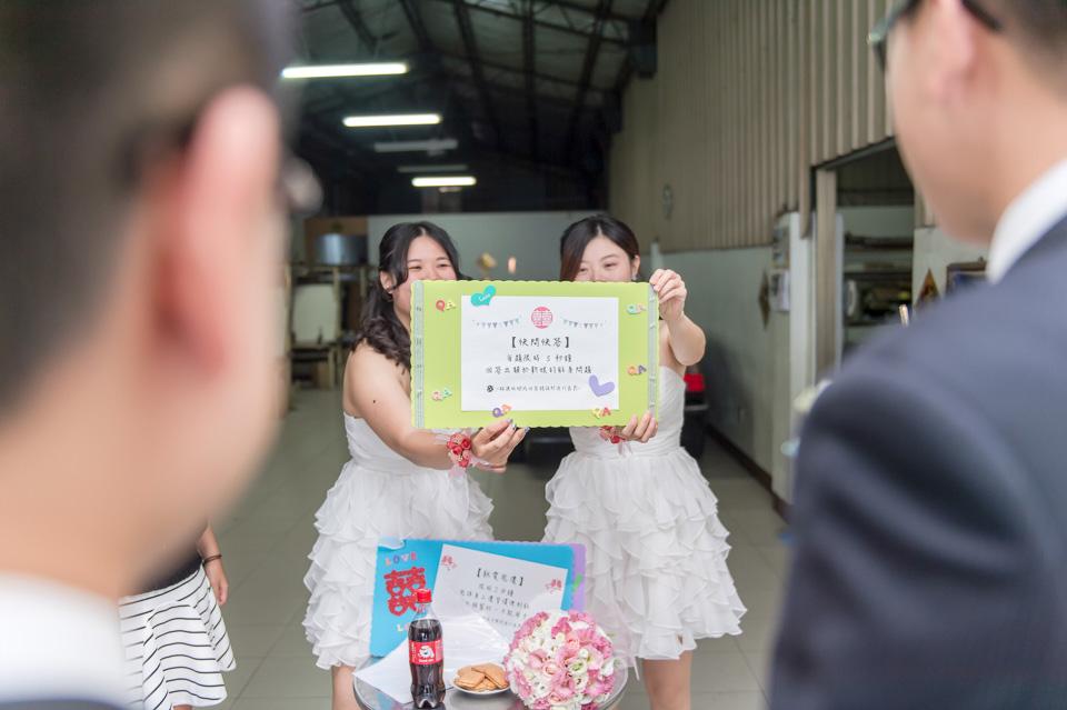 台南婚攝 情定婚宴城堡永康館 婚禮紀錄 C & V 045