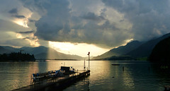 Wolfgangsee (etoma/emiliogmiguez) Tags: wolfgangsee stwolfgang austria sterreich lago pueblo salzkammergut