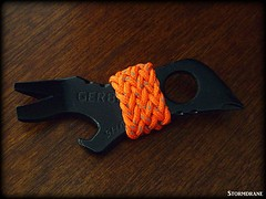 gaucho knot on gerber shard (Stormdrane) Tags: gerber shard multitool tool prybar screwdriver bottleopener wirestripper nailcleaner lanyardhole phillips philips standard black titaniumnitride coating orange 18mm string line cord stormdrane edc everydaycarry keyring keychain hobby craft diy decorative useful gaucho knot hiking camping work play gift backpacking fishing boating sailing scouting military geocache bushcraft handyman present christmas birthday design
