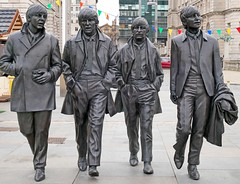 Liverpool - The Beatles (grab a shot) Tags: panasonic lumix gx80 england uk liverpool beatles fab4 statue paul john george ringo johnlennon paulmccartney georgeharrison ringostarr