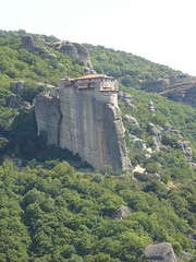 Meteora2 (chrisinwales) Tags: greece meteora monasteries rockformation