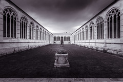 Camposanto BW (RobMenting) Tags: 70d pisa eos building architectuur travel itali city italia canon europe architecture canoneos70d