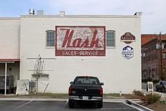 Nash Sales-Service (jschumacher) Tags: virginia petersburg petersburgvirginia ghostsign nashautomobiles