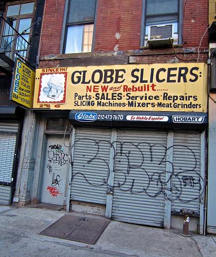 Globe Slicers, New York, NY