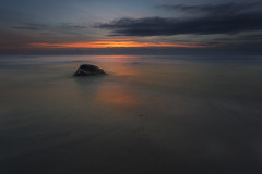 No. 1075 The Rock (H-L-Andersen) Tags: sunset landoflight landscape landscapes seascape sea denmark 6d canon6d lee leefilters manfrotto canoneos6d le longexposure serene nature hirtshals
