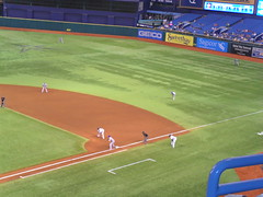 SAM_5075 (arctic_whirlwind) Tags: toronto baseball tampabay shift bluejays rays 2012 mlb tropicanafield overshift