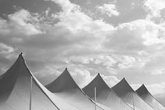 Peaks (animefx) Tags: leica summer sky abstract clouds digital tents illinois state statefair rangefinder fair m8 springfield peaks canopy 2012 illinoisstatefair leicam8 digitalrangefinder 35mmf25summarit