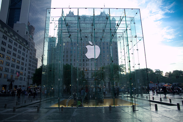 Apple Store at Fifth Avenue