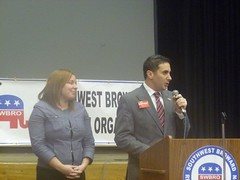 Speaking in front of the SouthWest Broward Republican Org 2