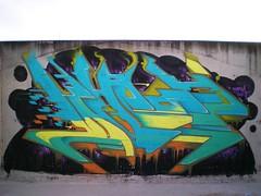 EMPEZAMOS DE NUEVO... (huron.ink) Tags: black ink negro amarillo granada rap naranja huron nube violencia 2012 locos respeto turquesa maracena