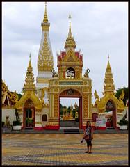 'Phra That Phanom...'..  That Phanom,  Thailand