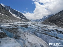 Chamonix Mont Blanc - Argentire Glacier (GlobeTrotter 2000) Tags: travel vacation mountain snow france alps french climb europe glacier adventure explore climbing chamonix mont blanc mb montblanc grands argentiere alpinism alpinist montets
