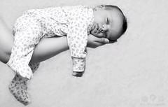"Baby boy ""A"" (Rawan Mohammad ..) Tags: old boy baby white black cute 1 kid sleep mohammed newborn month mohammad 2012 newborns محمد rawan ولد اطفال كيوت بيبي روان المصورة"