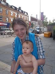 Amanda and John (Amanda Hill) Tags: amanda london john leavingdrinks