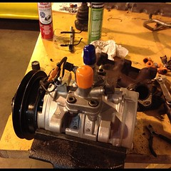Rebuilt AC compressor from this weekend