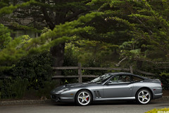 Ferrari 575 Maranello (GHG Photography) Tags: speed silver italian gray fast ferrari expensive luxury rare exclusive supercar badboys sportscar maranello willsmith v12 topgear 575 grandtourer