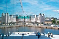 # 234 of 365 (Tomsch) Tags: city trip reflection glass oslo norway holidays skandinavien norwegen journey stadt 365 operahouse scandinavia reflexion spiegelung ferien glas opernhaus