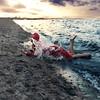 The Struggle Upwards (Sophia Alexis) Tags: alexis blue light sunset sea portrait sky beach water girl yellow norway self canon photography eos 50mm sigma 7d 365 conceptual sophia struggle upwards