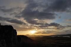 Sunset over MacLeod's Tables, Isle of Skye, Scotland (Peter (Fernilea Photography)) Tags: sunset lighthouse sunrise scotland isleofskye cuillins cuillin carbost glenbrittle portnalong sgurrnangillean minginish fernilea skyebridgesligachan