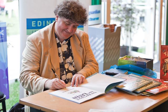 John Fardell book signing