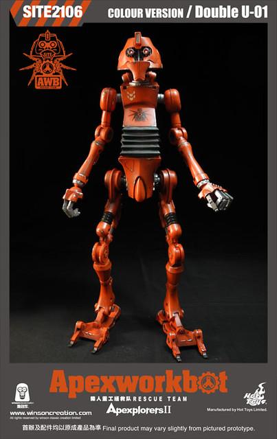 Hot Toys - OM120824 - Winson Classic Creation × Hot Toys: Apexplorers II - 猿人重工拯救隊 (彩色版)