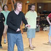 From left, Jennifer Black, Tom McGovern, John Kielty, Rod Matthew and Ben Winger in rehearsal for The Cone Gatherers